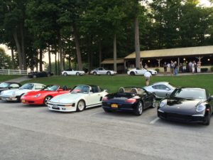club meeting cars