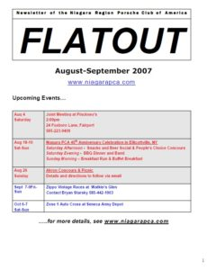 August-sept flatout 2007 cover