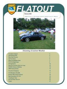 Feb. Flatout 2009 cover