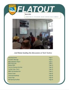 March Flatout 2010 cover