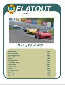 May flatout 2011 cover