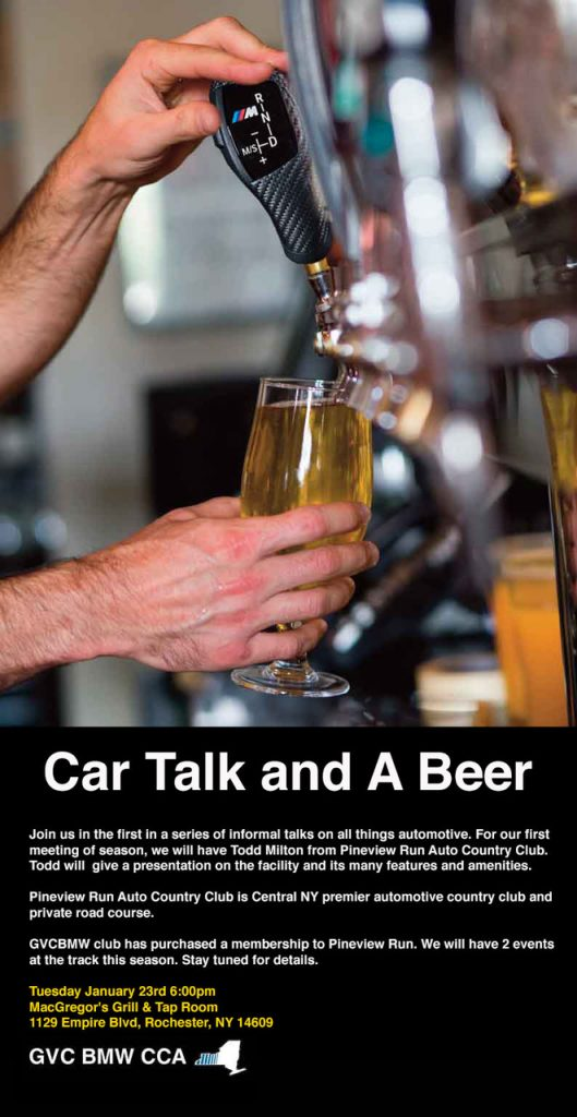Car Talk and a Beer @ MacGregor's Grill & Tap Room | Rochester | New York | United States