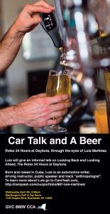 Car Talk & a Beer* @ MacGregor's Grill & Tap Room | Rochester | New York | United States
