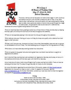 Zone 1 - 48 Hours at the Glen - Driver Education* - Cancelled @ Watkins Glen International | Watkins Glen | New York | United States